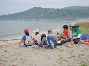②唐津湾を眺めながらの昼食